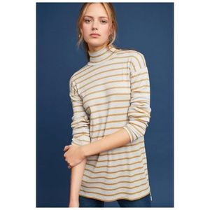 Anthro Vanessa Virginia Shine Turtleneck Tunic